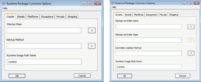 VisualWorks RuntimePackager and ObjectStudio 8.3 RuntimePackager