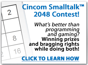 Cincom Smalltalk 2048 Contest